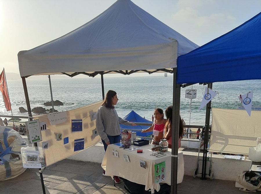 Alianza Playera, Limpieza de playas con stand educativo en Playa Abarca, Viña del Mar31 de enero 2020